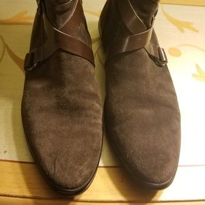 Tod's brown suede booties size  40